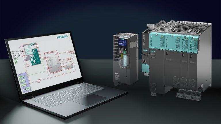 Simulation simple et rapide des variateurs avec la nouvelle solution logicielle Siemens
