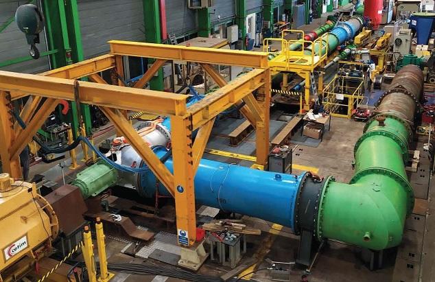 Emile Egger testet Rohrbogen-Pumpen unter realen Bedingungen