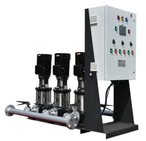 Intelligent Water Supply Solution for Serving the Changing Water Demand at Constant Pressure