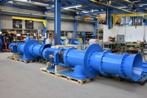 River Water Pumps for Swiss-German Energy Supplier