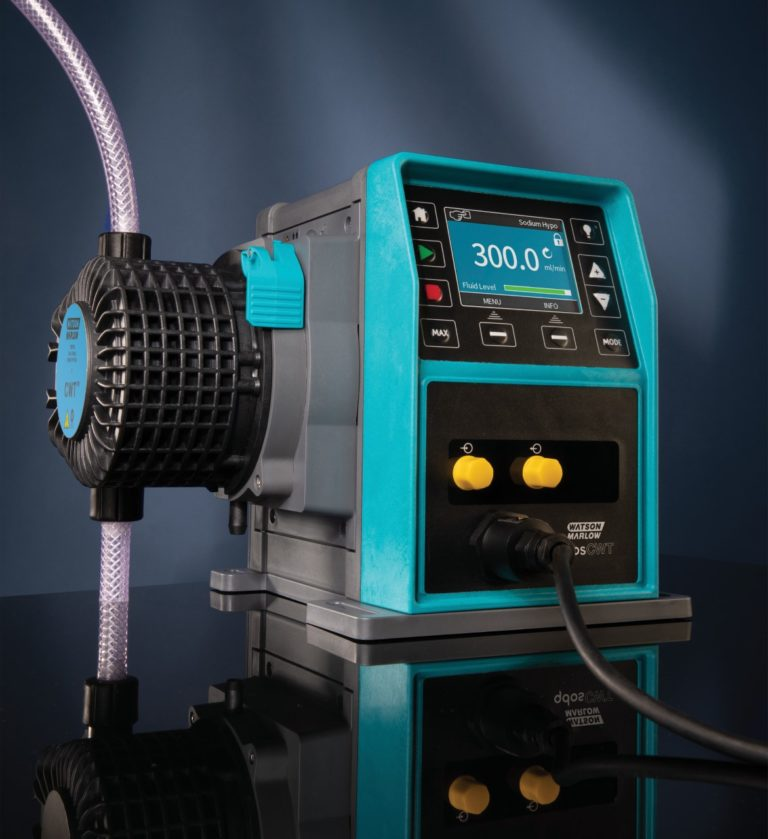 New Peristaltic Pump Technology Delivers Major Advance in Long-Life Chemical Metering