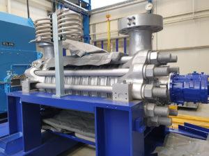 Abbinamento dei progetti delle pompe dell'acqua di alimentazione con i progressi nelle centrali elettriche a gas