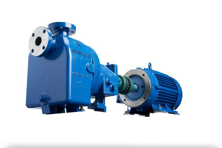 Griswold Releases New 811SP Series Self-Priming Centrifugal Pumps