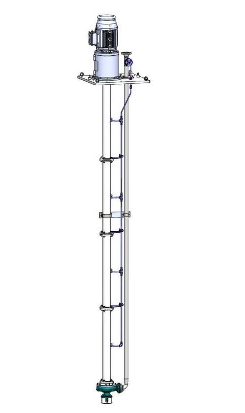Amarinth fornisce una pompa verticale intercambiabile per il progetto kazako
