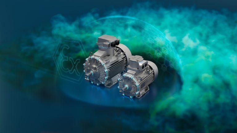 Siemens amplía la cartera de motores para la industria de procesos