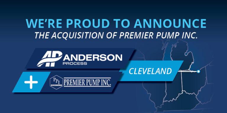 Anderson Process adquiere Premier Pump Inc.