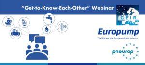 """Europump riferisce di un webinar """"Farsi conoscere l'un l'altro"""" di successo"""