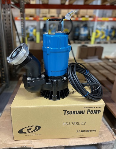 Tsurumi stellt universelle Schmutzwasserpumpe mit erhöhter Leistung vor
