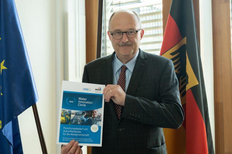 DVGW und DWA adressieren Forschungsbedarf der Wasserwirtschaft an die Politik