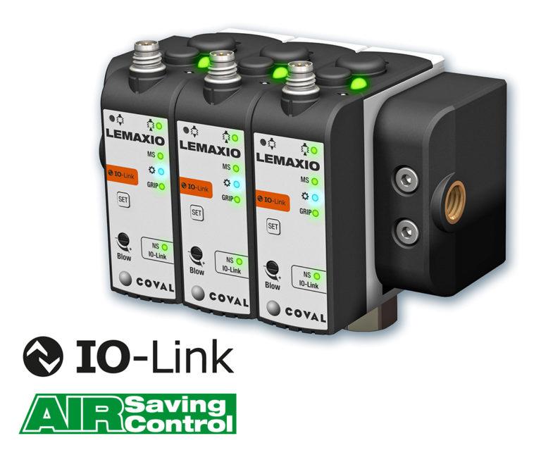 COVAL kündigt neue Serie Mini-Vakuumpumpen mit IO-LINK-Kommunikation an