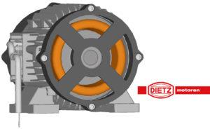 Unterölmotoren mit vollständiger Durchspülung von Dietz-motoren