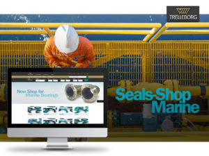 Trelleborg Expands its Seals-Shop to Include Marine Seals and Bearings