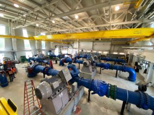 KSB Equips New Water Pump Station for Calgary