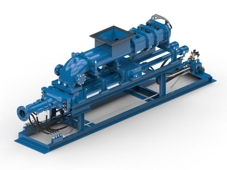 ABEL erhält Auftrag zur Lieferung von fünf Feststoffpumpen