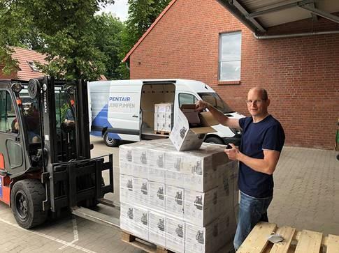 Jung Pumpen hilft mit Pumpenspenden in den betroffenen Hochwassergebieten