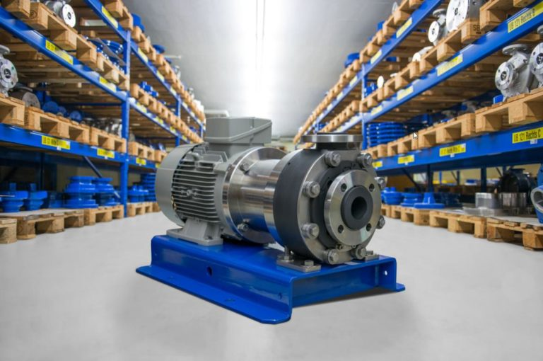 CP Pumpen Highlights Sealless, Magnetically Coupled Centrifugal Pump Made of Solid Plastic