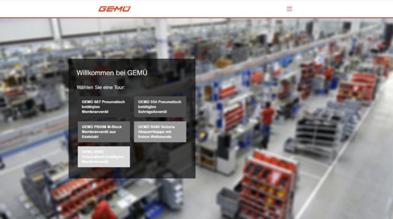 GEMÜ bietet virtuelle Werkstour für Interessierte an