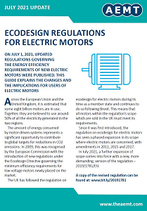 Free Guide to Ecodesign Regulations for Electric Motors