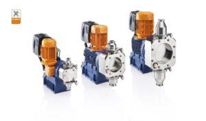 Nuova pompa dosatrice a motore nella variante di design igienico