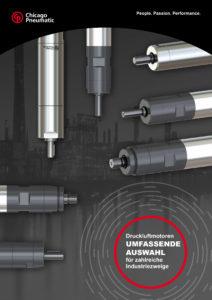 Neuer Druckluftmotoren-Katalog von Chicago Pneumatic