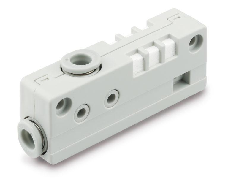 Neuer Vakuumerzeuger der Serie ZH-A als Kompaktversion mit integriertem Schalldämpfer
