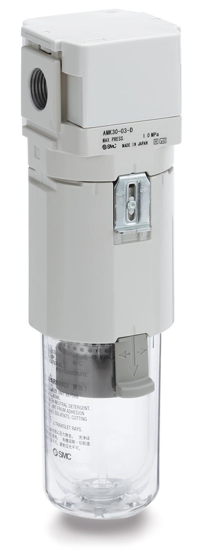 Aktivkohlefilter sorgt für saubere Druckluft bei erhöhter Durchflusskapazität