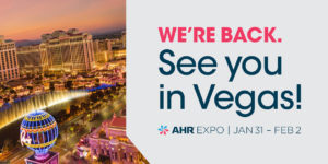 AHR Expo Opens Registration for 2022 Show in Vegas