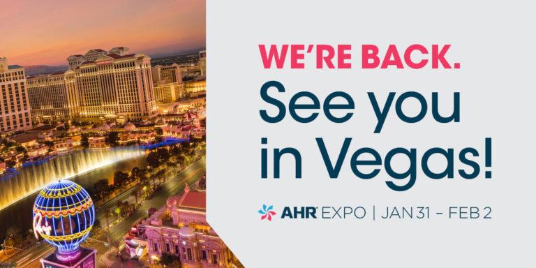 AHR Expo abre el registro para la feria 2022 en Las Vegas