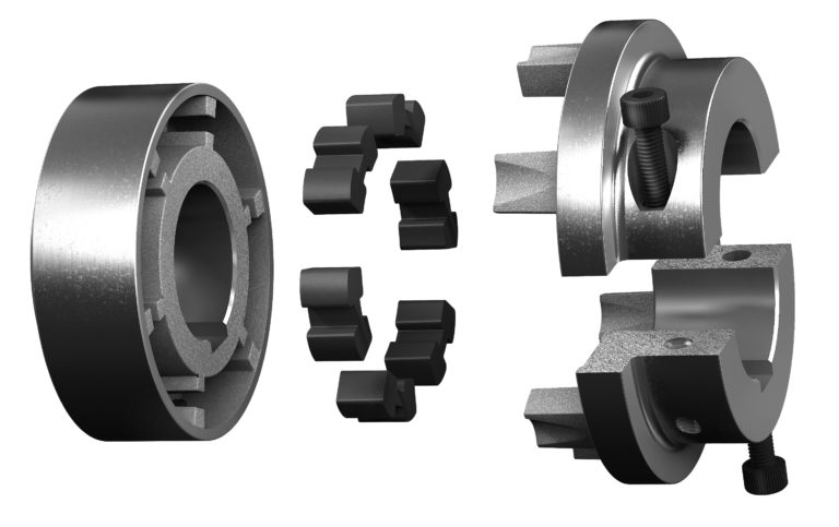 New Service-Friendly Shaft Coupling