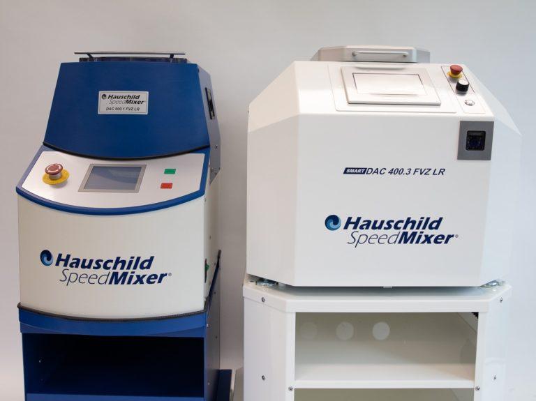 Nueva era de mezcla de laboratorio con la serie Smart DAC SpeedMixer inteligente de Hauschild