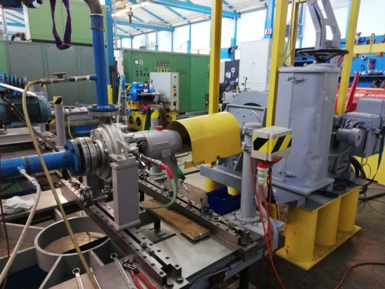 Hohe Gasgehalte in flüssigen Medien sind kein Problem für Egger Pumpen