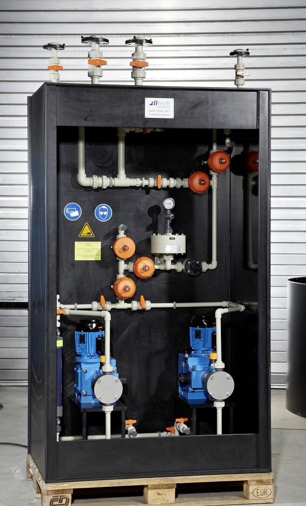 Dosiersysteme in der Erzeugung von Reinstwasser für die Verarbeitung von Rohöl und Flüssiggas