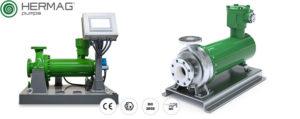 AxFlow nimmt hermetische Spaltrohrmotorpumpen von HERMAG ins Sortiment