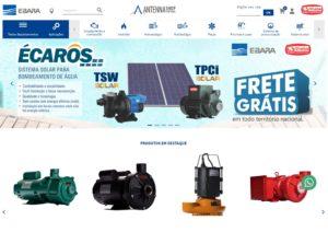 EBARA Opens Virtual Antenna Shop in Brazil