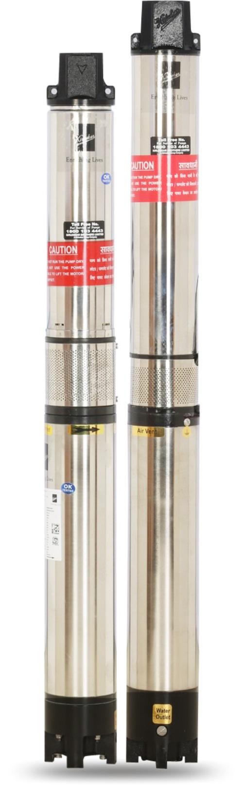 KBL présente les pompes submersibles Borewell de 4 pouces de la série NEO