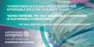 Il World Hydropower Congress 2021 si conclude con un momento storico per il settore idroelettrico