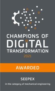 """Business Magazine CAPITAL sceglie SEEPEX come """"Campione della trasformazione digitale"""""""