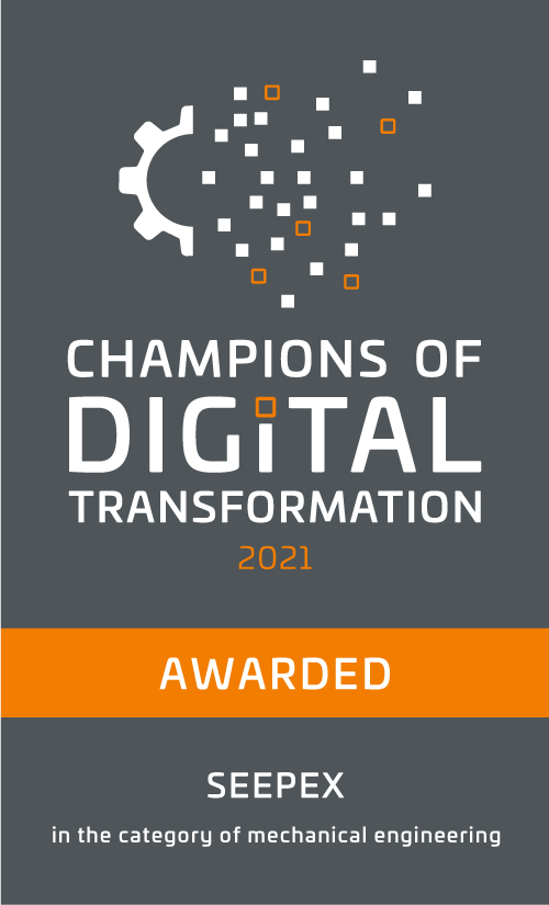 """Business Magazine CAPITAL Selects SEEPEX as the """"Champion of the Digital Transformation"""""""