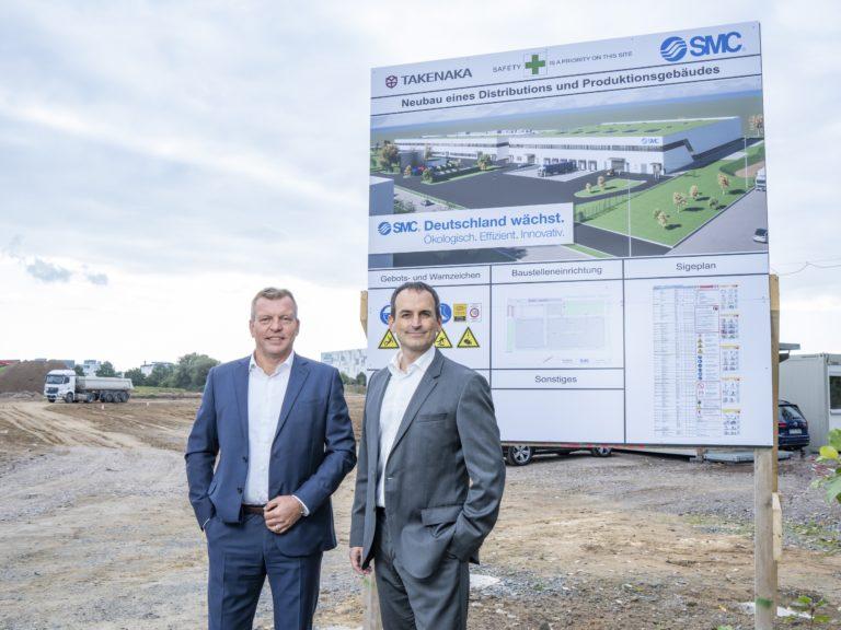 SMC vereint Lager und Produktion auf 17.000 Quadratmetern am Hauptsitz in Egelsbach