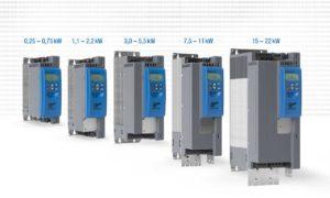 Erweiterter Leistungsbereich bis 22kW: der Universalumrichter NORDAC PRO SK 500P