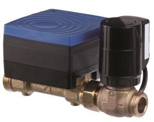 Smarte elektronische druckunabhängige 2-Wege Regelventile in DN15 regeln Wasser und Luft